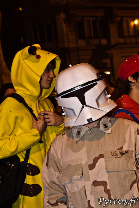 Clone troopers, Carnaval de Toulouse 2012