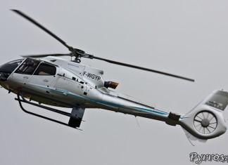Portrait de l'EC130 T2, Airexpo 2012