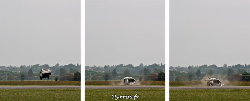 Largage de voiture (triptyque) AS350 B3 Ecureuil, Airexpo 2012