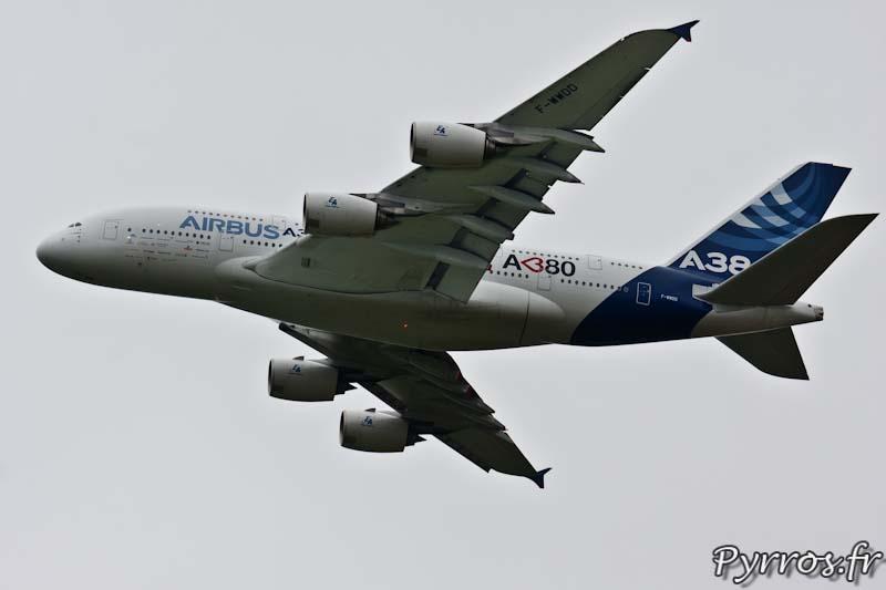 Portrait A380 cœur, Airbus A380, Airexpo 2012