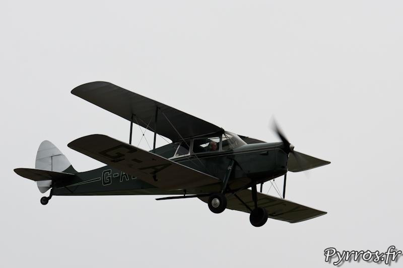 de Havilland DH.87 Hornet Moth en vol à Airexpo 2012