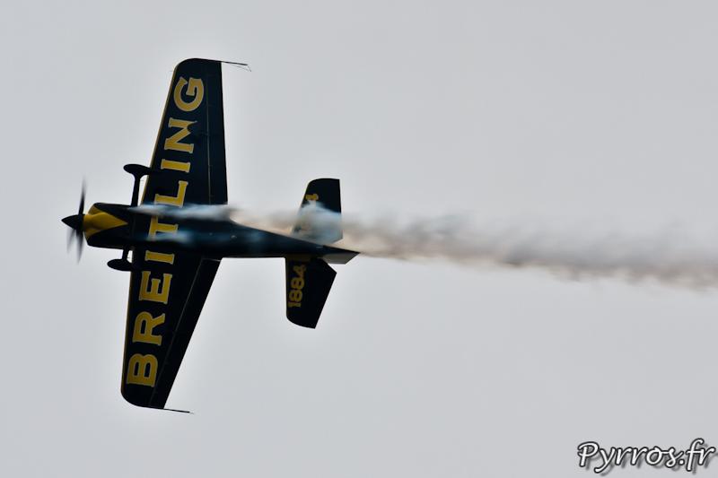 Sbach 300 vu de dessous, Airexpo 2012