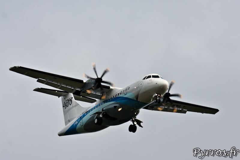 ATR 42-600 procédure d'atterrissage, Airexpo 2012