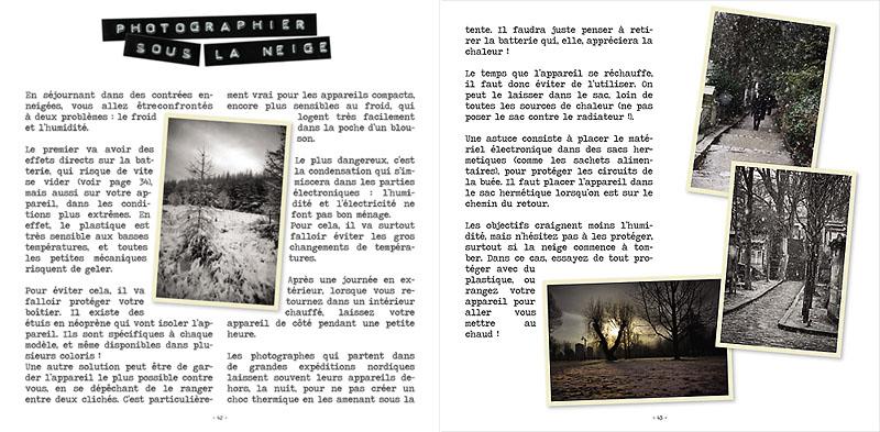 Page du petit guide du photographe voyageur