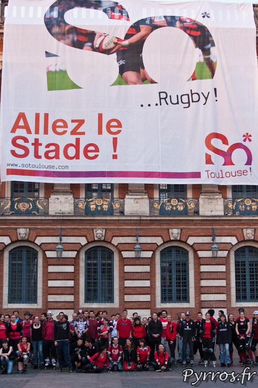 Tout le monde soutient le Stade, So Rugby; So Toulouse