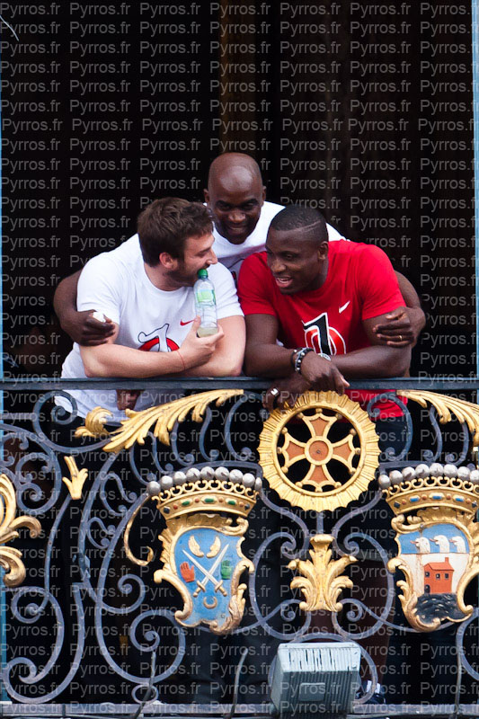 Maxime Medard, et Yves Donguy encadre par Zéba Traoré sont aussi champions de France 2012