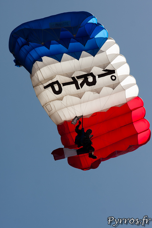 le 1er Régiment de Train Parachutiste est base à Francazal près de Toulouse