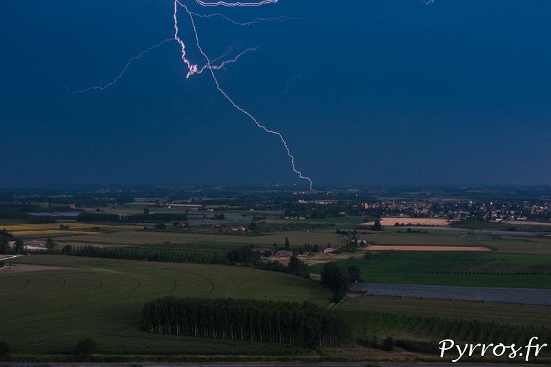 Comment photographier l'orage de jour