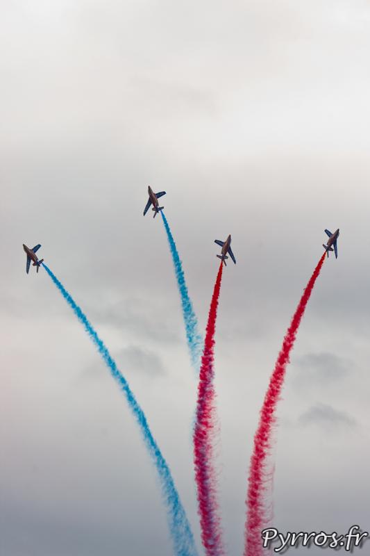 Patrouille de France, éclatement