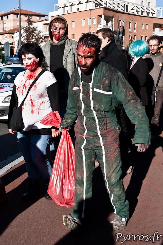 Tous les métiers sont touche par l'infection qui transforme les humain en zombies