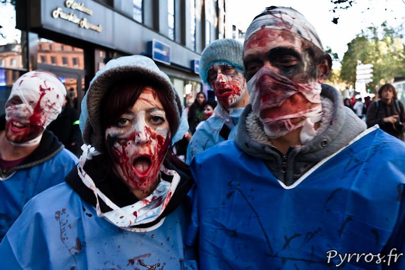 Médecins zombies