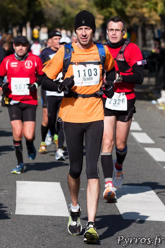 Marathon International de Toulouse Métropole, au soleil il fait toujours aussi froid