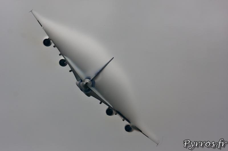 Disparition dans les nuages, Airbus A380, Airexpo 2012