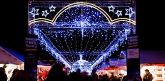 Entrée du marché de Noël