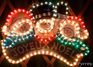 Comment photographier les illuminations de Noël