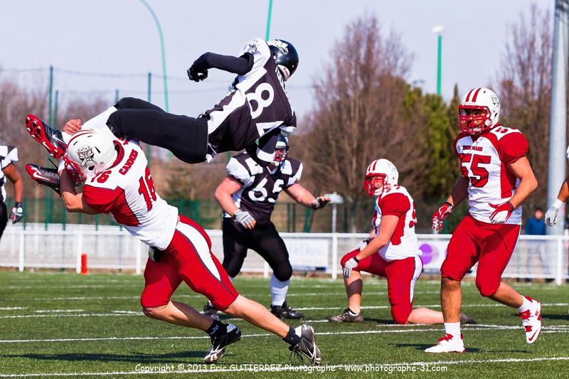 une vitesse élevé permettras de figer les joueurs et ainsi de capter des acrobaties spectaculaire ( choses courante dans ce sport)