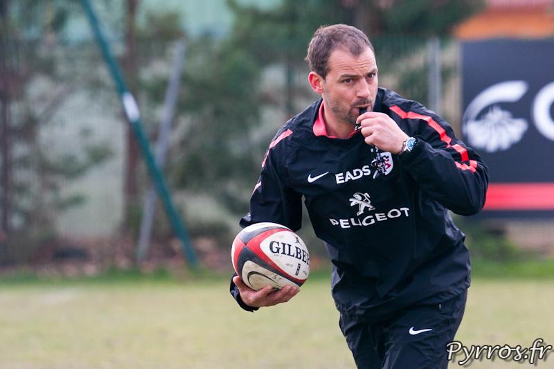 Jean-Baptiste Elissalde entraineur et meneur de jeu, Entrainement du Stade Toulousain