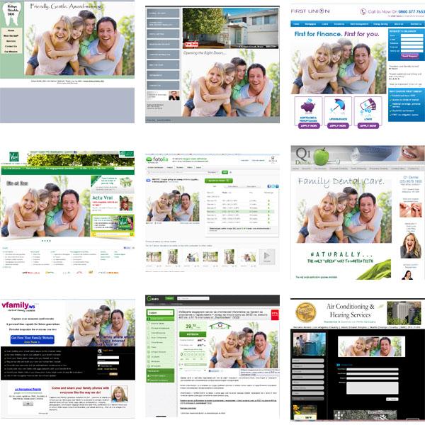 Quel image aura le client si il voit la photo illustrer différents produits ?
