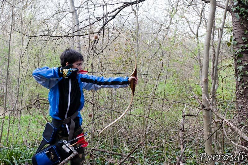 Competition de tir à l'arc (FFTL) organisée par le Toulouse Sport et Nature