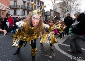 Petits et grands au Carnaval de Toulouse