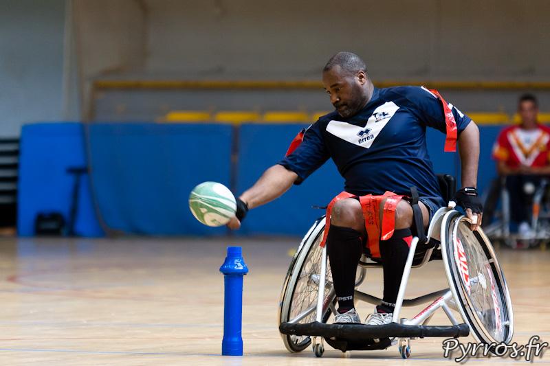 Rugby a XIII handisport, engagement du joueurs du Toulouse Olympique XIII