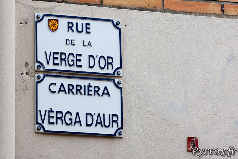 Rue de la Verge d'Or ou Carriera Verga d'Aur