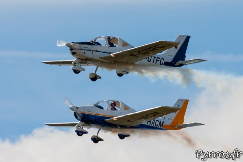 Patrouille Yellow vol en formation