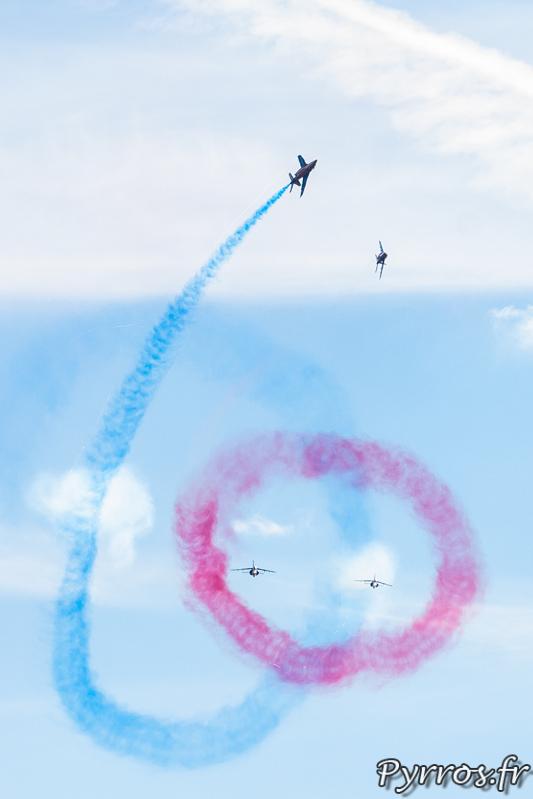 Le 60 pour marquer l'anniversaire de la Patrouille de France dans le ciel de Gimont