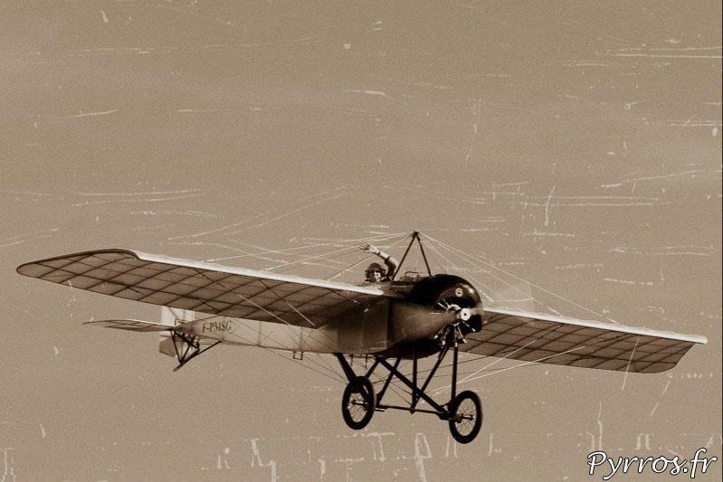 Morane-Saulnier Type G dans le ciel de Gimont