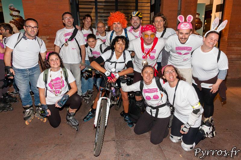 Roulez Rose et Doc 31 dans le cadre d'octobre rose, organisent une randonnée roller de sensibilisation afin de lutter contre le cancer du sein.