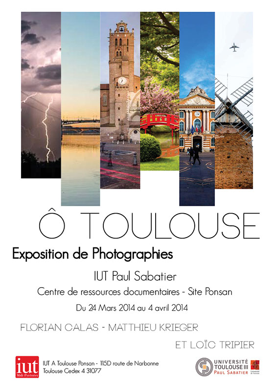 "Affiche exposition ""O Toulouse"""