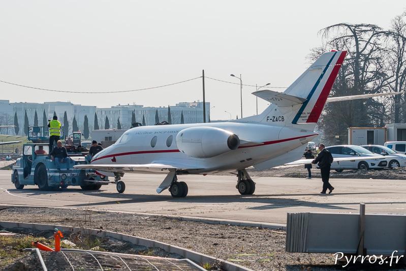 Le Dassault Falcon 10 C/N 02 est le premier à entrer dans le musée
