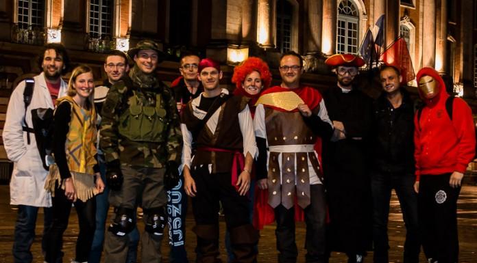 Le groupe OVS participe en nombre au Carnaval de Roulez Rose