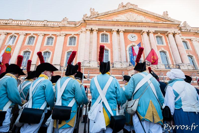 Les britanniques font face au Capitole