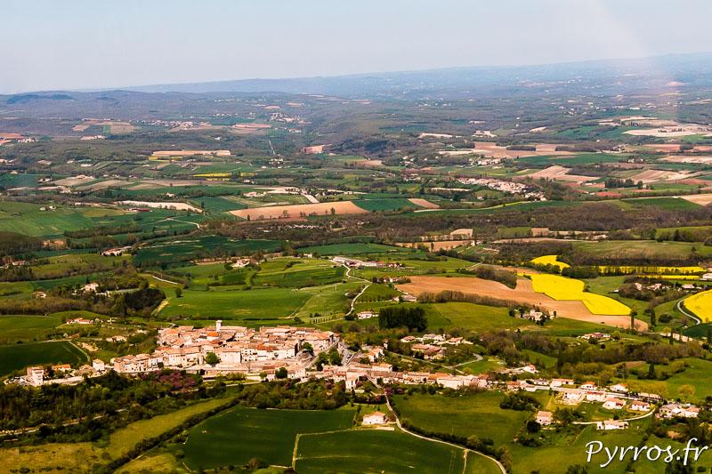 Le Tarn vu du Ciel, Castelnau de Montmiral