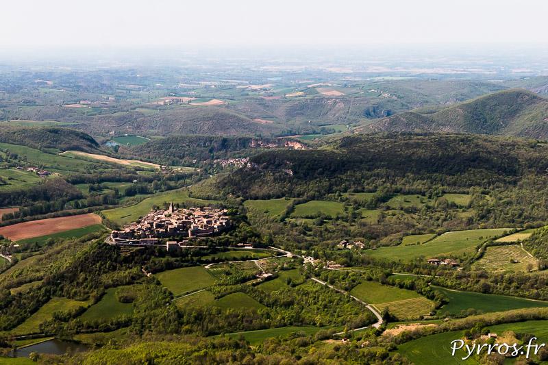 Le Tarn vu du Ciel, Puycelsi