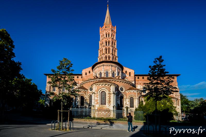 Basilique Saint Sernin durant le parcours de Chronoshooting
