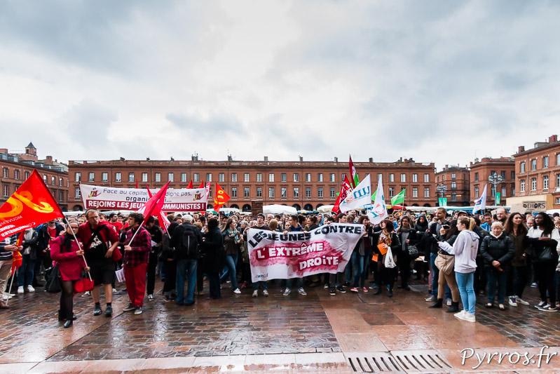 700 personnes réunies pour cette marche citoyenne contre le FN