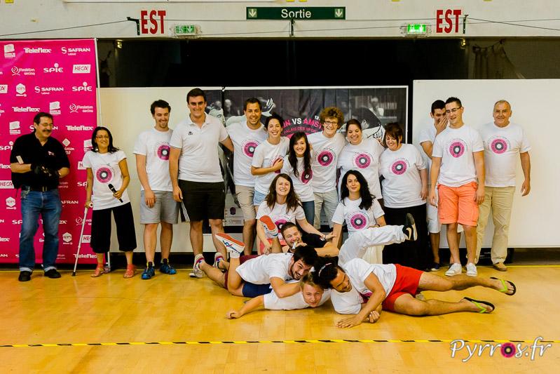 Les bénévoles de la Rock'n Rose Europa Cup