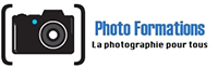 Logo photo formation, comment faire ses photos de vacances