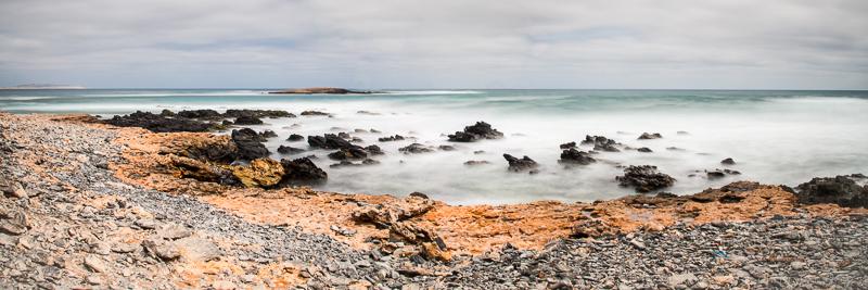 Pose longue sur la plage de Las Gatas (Boa Vista, Cap Vert)  par Christophe Gressin