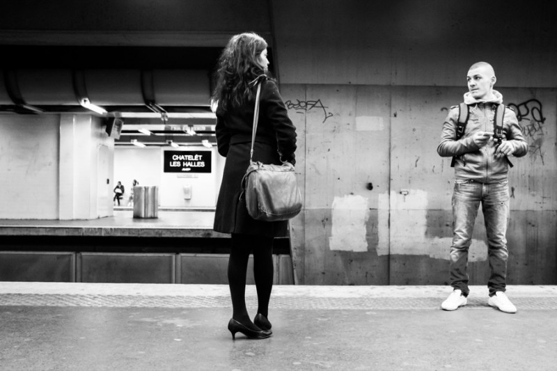 Duo d'inconnus, par Thomas Benezeth