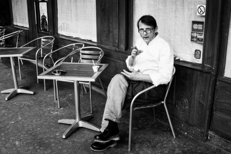 Le Garçon de café pas content, par Thomas Benezeth