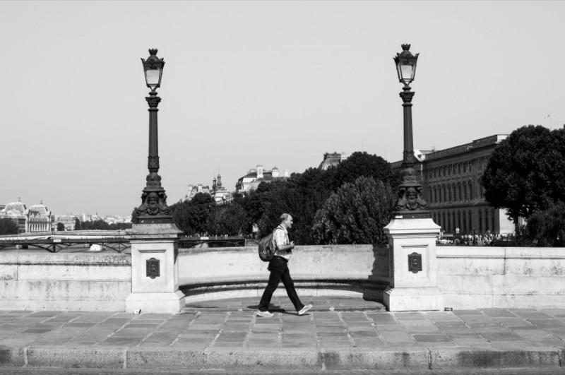 Le passant du Pont Neuf, par Thomas Benezeth