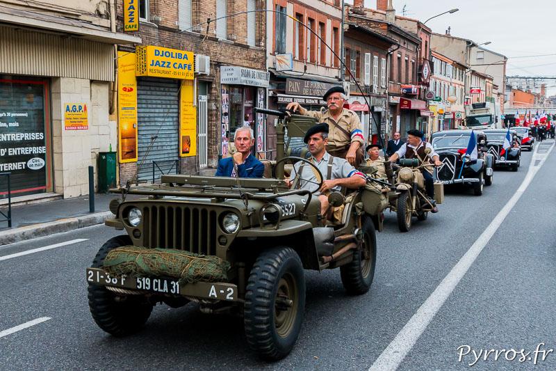 Toulouse commémore les 70 ans de sa libération, notamment autour dela Gare Matabiau