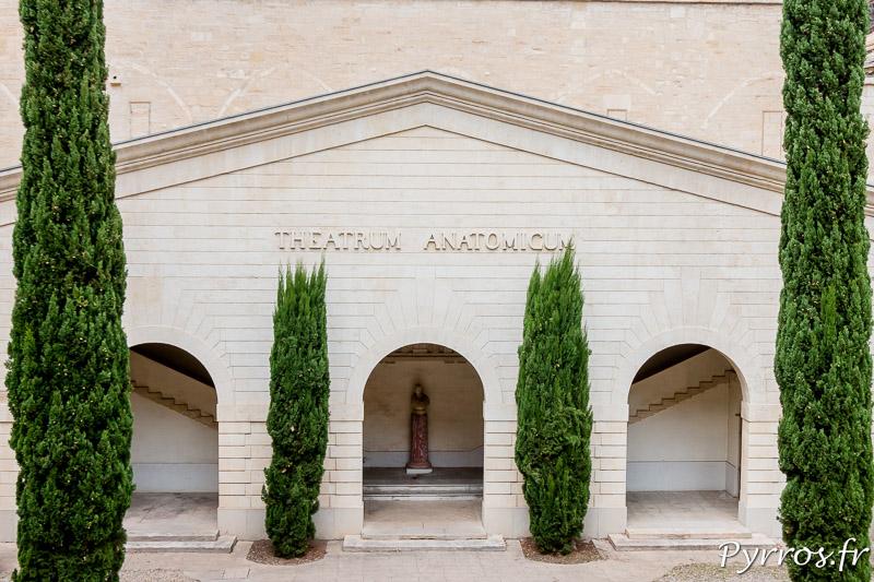 La Cour d'honneur de la Faculté de Médecine (ancien cloître du monastère Saint-Benoît)