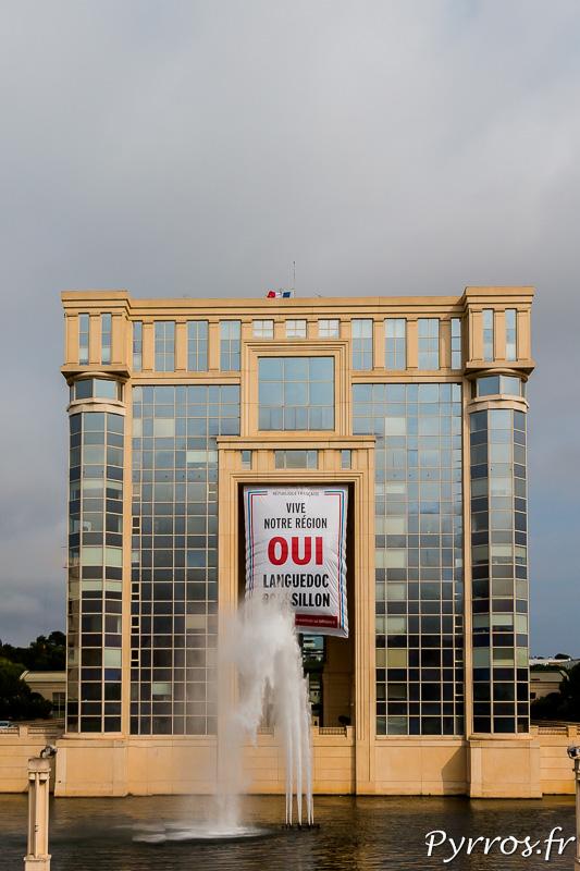 L'Hôtel de région de Languedoc Roussillon