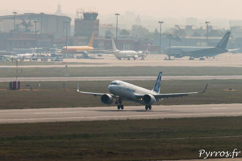 l'A320NEO quitte le sol pour la première fois