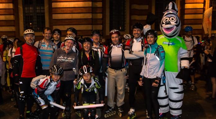 Le groupe de Saint Orens RSSO participe à la randonnée des jeux du roller