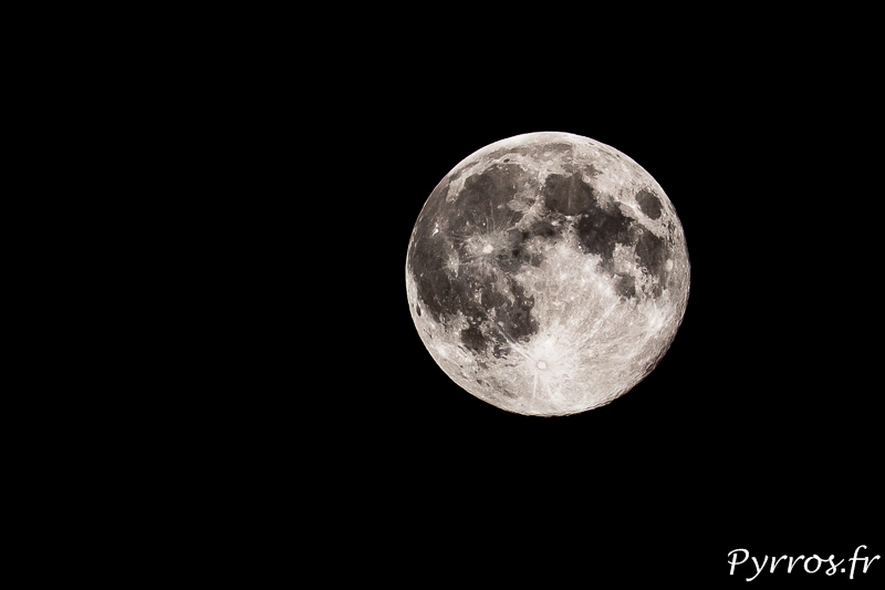 Comment photographier la pleine lune ?